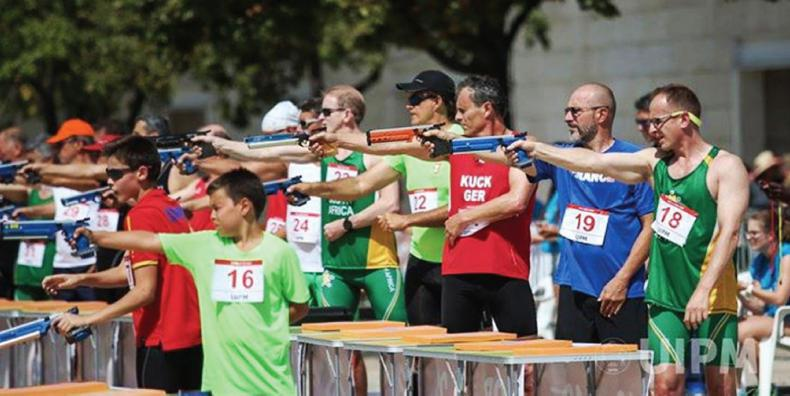 AROUND THE COUNTRY:  Test your running and shooting skills