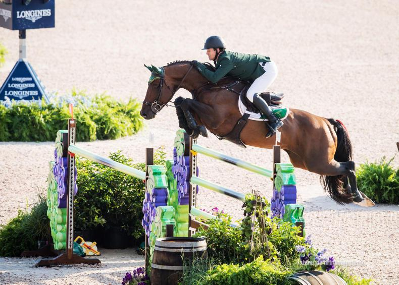 WEG 2018: Irish show jumping team 10th after first round