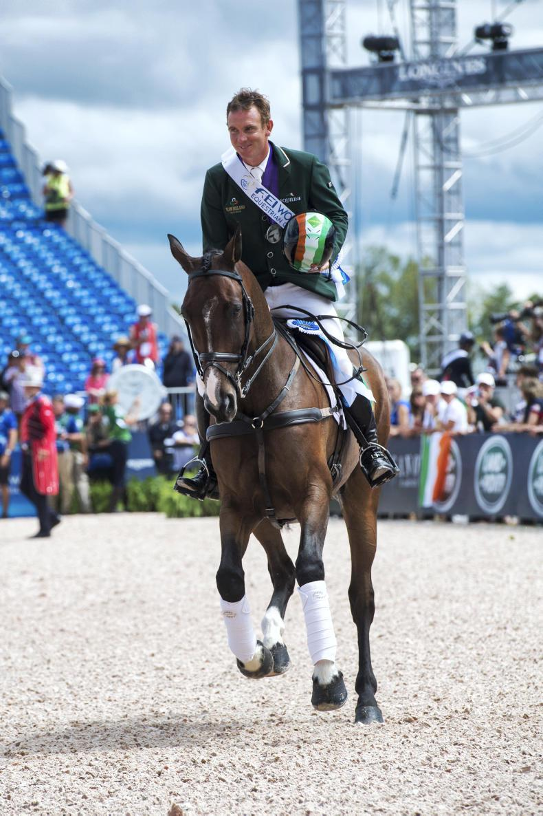 WEG: 'It's a great day for eventing in Ireland'