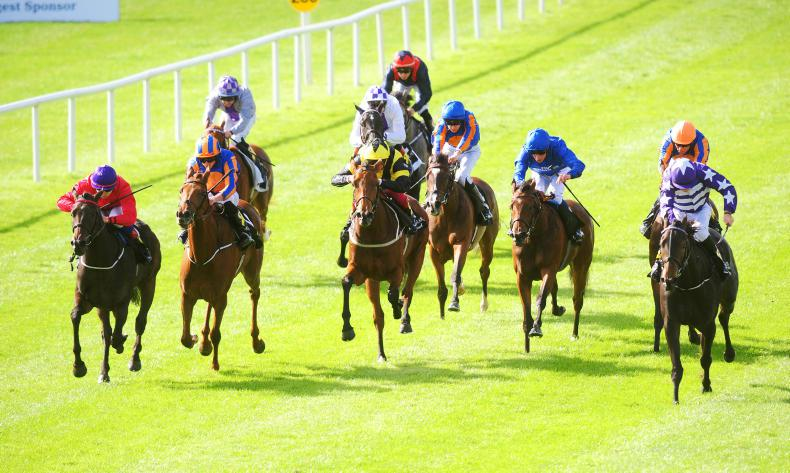 CURRAGH SUNDAY: Skitter Scatter scores at top level