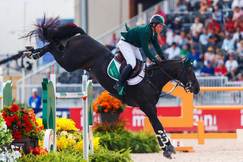 WEG 2018: Cian O'Connor finishes 13th individually at World Equestrian Games