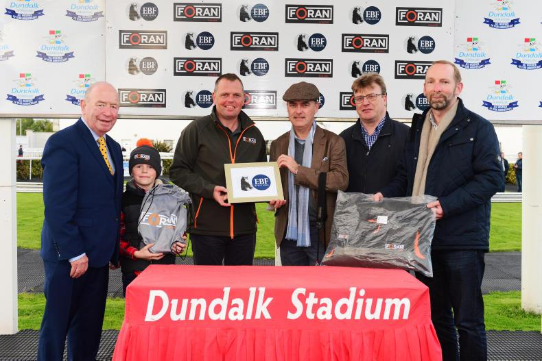 FORAN EQUINE IRISH EBF SERIES: First-time-out winner is a Major Reward for Lynch
