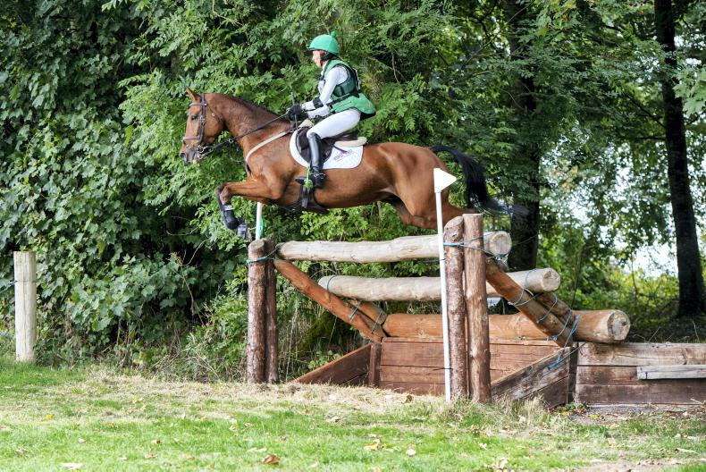 EVENTING:  Woodcourt Garrison delivers for Ennis
