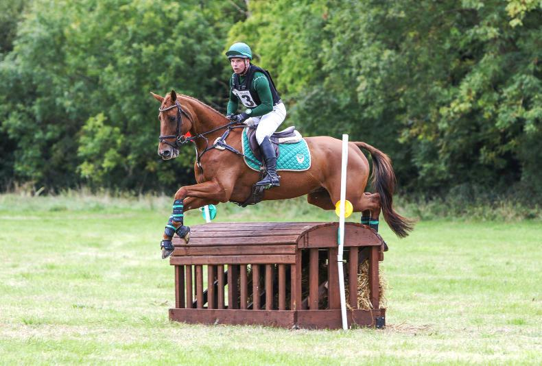 EVENTING:  Duffy travels the Silk Road to win