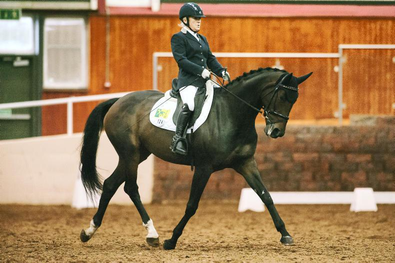 PARA EQUESTRIAN CHAMPIONSHIPS:   Delighted Gaffney takes the title