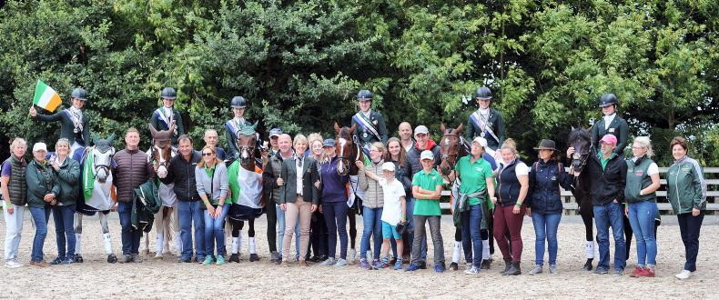 EUROPEAN CHAMPIONSHIPS: Silver medal for eventing team