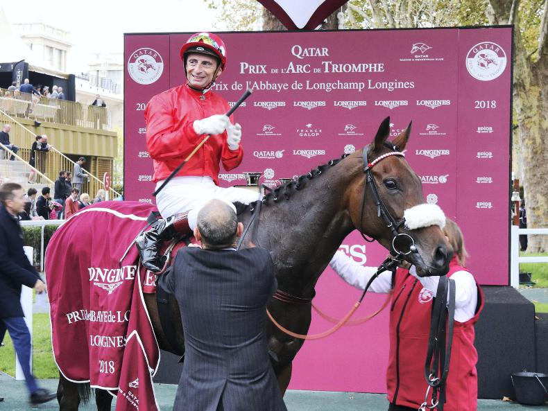 FRANCE: PARISLONGCHAMP SUNDAY: Mabs Cross gets her nose in front