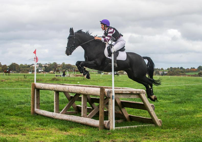 AMATEUR EVENTING: Riding is good for Anchell's brain
