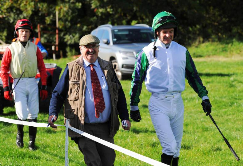 MARGIE McLOONE: Two stylish riders on the mark