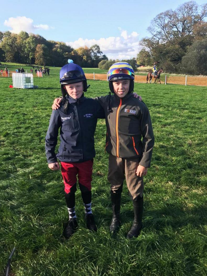 MARGIE McLOONE: Leading pony riders on sidelines at Toome