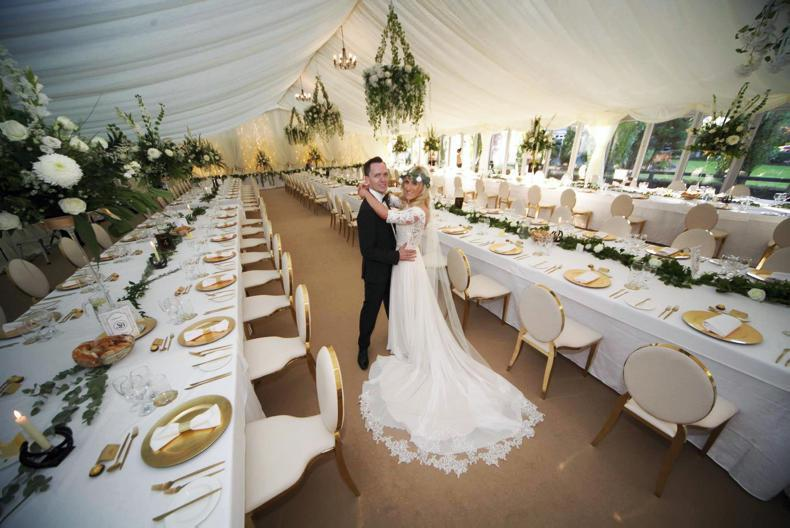 PONY TALES:  Wedding bells for Sarah and Blaine