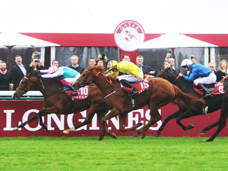 FRANCE: PARISLONGCHAMP SUNDAY: Enable retains her crown