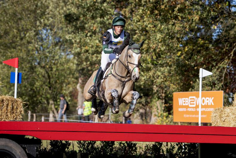INTERNATIONAL:  Irish just out of the medals at Boekelo