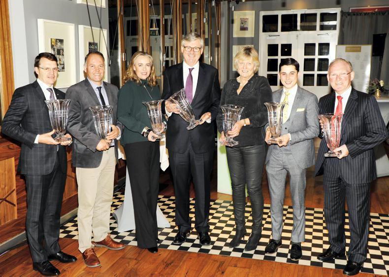 CURRAGH AWARDS: Harrington and Whelan star on night of celebration