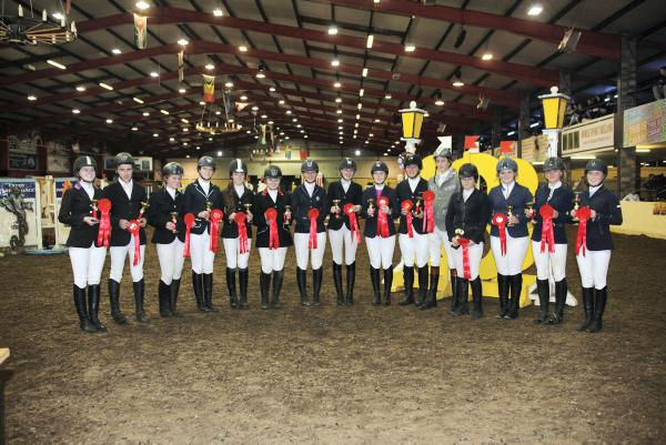 One-two for Harry Allen at Cavan Home Pony International