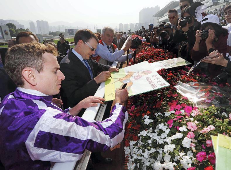 HONG KONG: Strong Irish entry for International Races