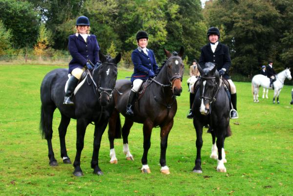 Hounds on song: Louth Foxhounds