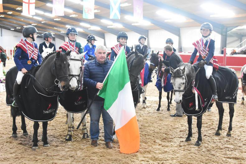 Ireland's Under 12 team win gold in South View