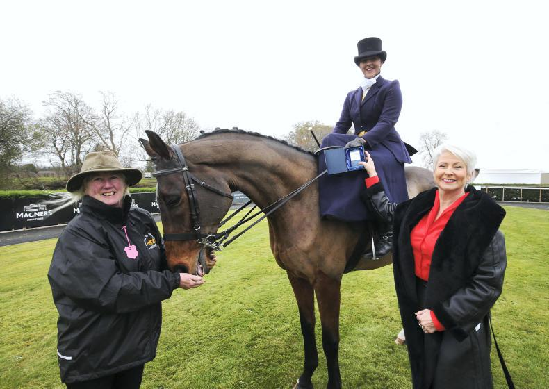 VIEW FROM ABOVE: Side saddle outing for Mossbank
