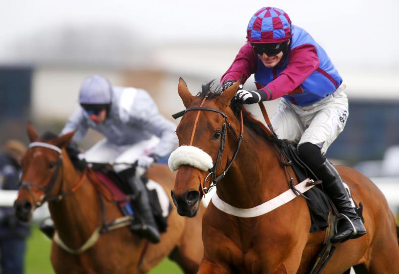 La Bague Au Roi sparkles on chasing bow at Newbury