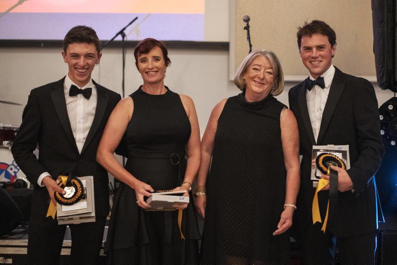 AWARDS: Munster stars celebrated at eventing awards ball