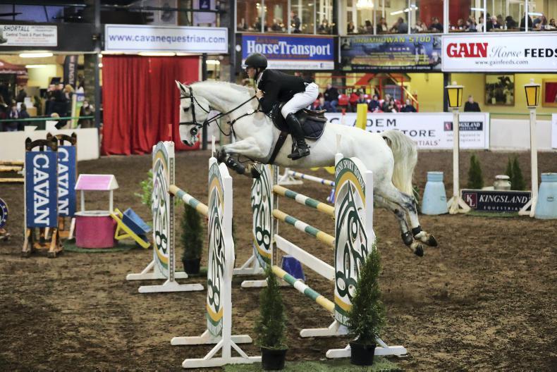 CAVAN INTERNATIONAL: Tick Tock Tina gallops to victory