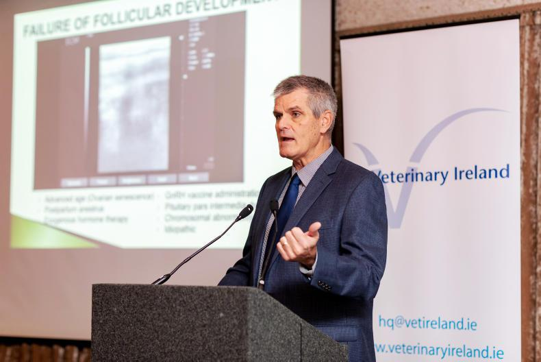 IRISH EQUINE VETERINARY CONFERENCE:  Breeding abnormalities in mares