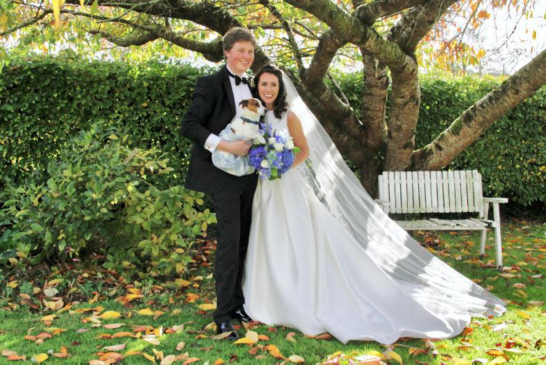 PONY TALES:  Wedding bells for Richard and Denise