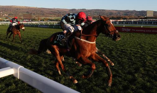 Nietzsche springs 20-1 surprise as he lands Greatwood gold