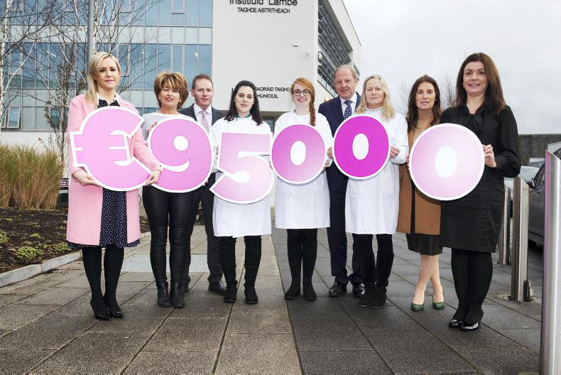 PARROT MOUTH: Galway is a winner for fundraising