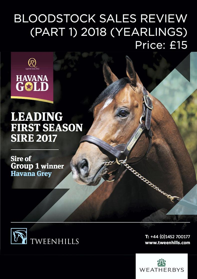 Yearling sales data now available