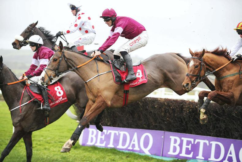 PUNCHESTOWN WEDNESDAY: Mengli Khan's smart chase start