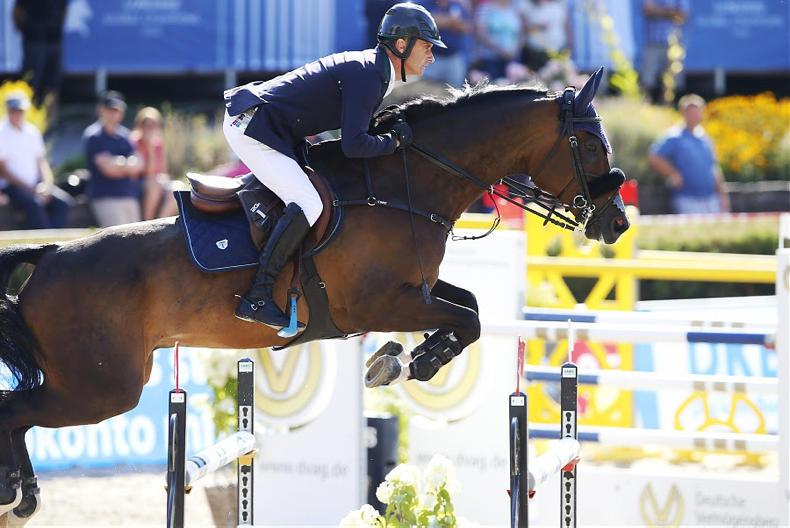Five-star podium finish for Denis Lynch and The Sinner in France
