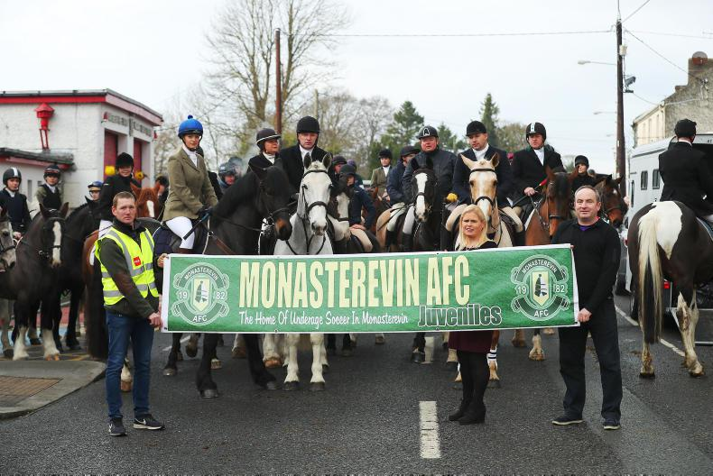 PONY TALES:  Over 200 riders turn out for charity chase