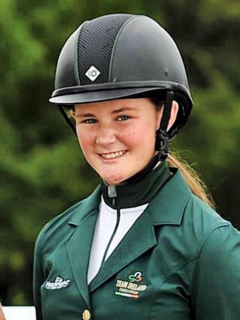 YOUNG RIDERS' PROFILE:  Grace McHugh