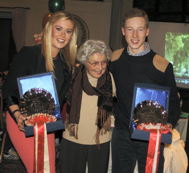 APPRECIATION-Countess April Merveldt:  A huge supporter of the Connemara pony