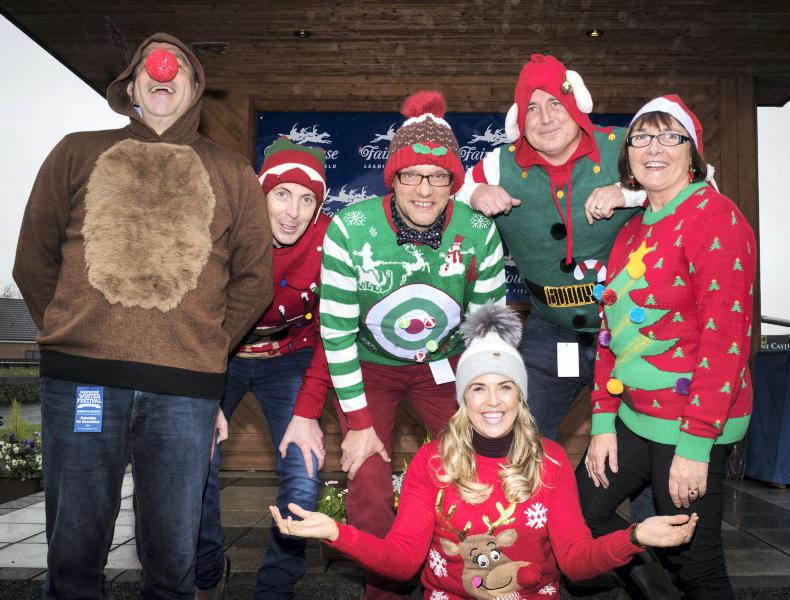 PARROT MOUTH: Festive jumpers at Fairyhouse