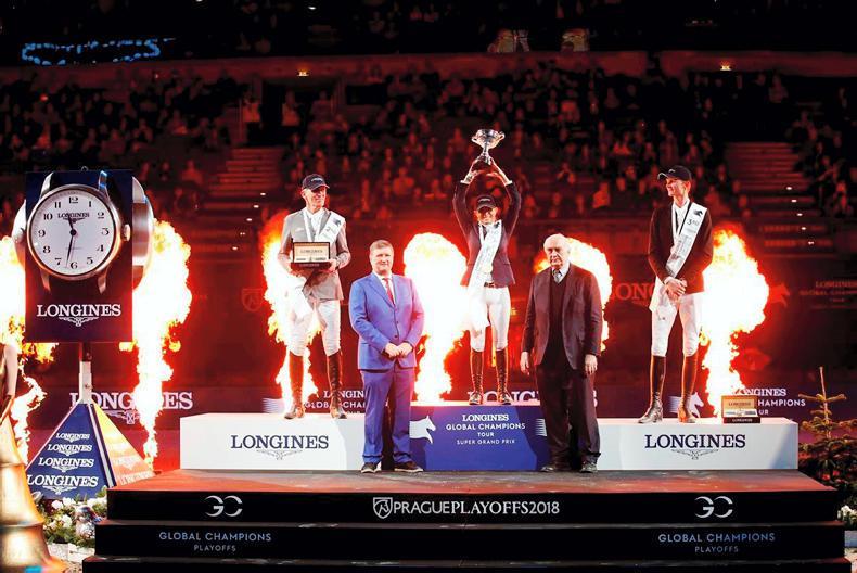 SHOW JUMPING:  Edwina wins €1.25m Super Grand Prix