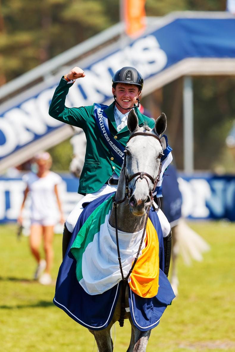 REVIEW 2018: Golden year for underage show jumpers