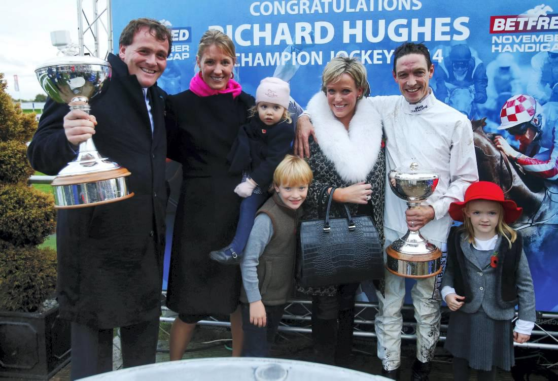 BRITAIN:  Hughes takes title number three