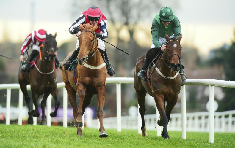 Simply the best for Nicky Richards at Leopardstown