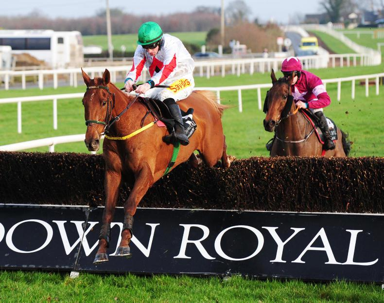 DOWN ROYAL ST STEPHEN'S DAY: Getaway Kid impresses on his chasing debut