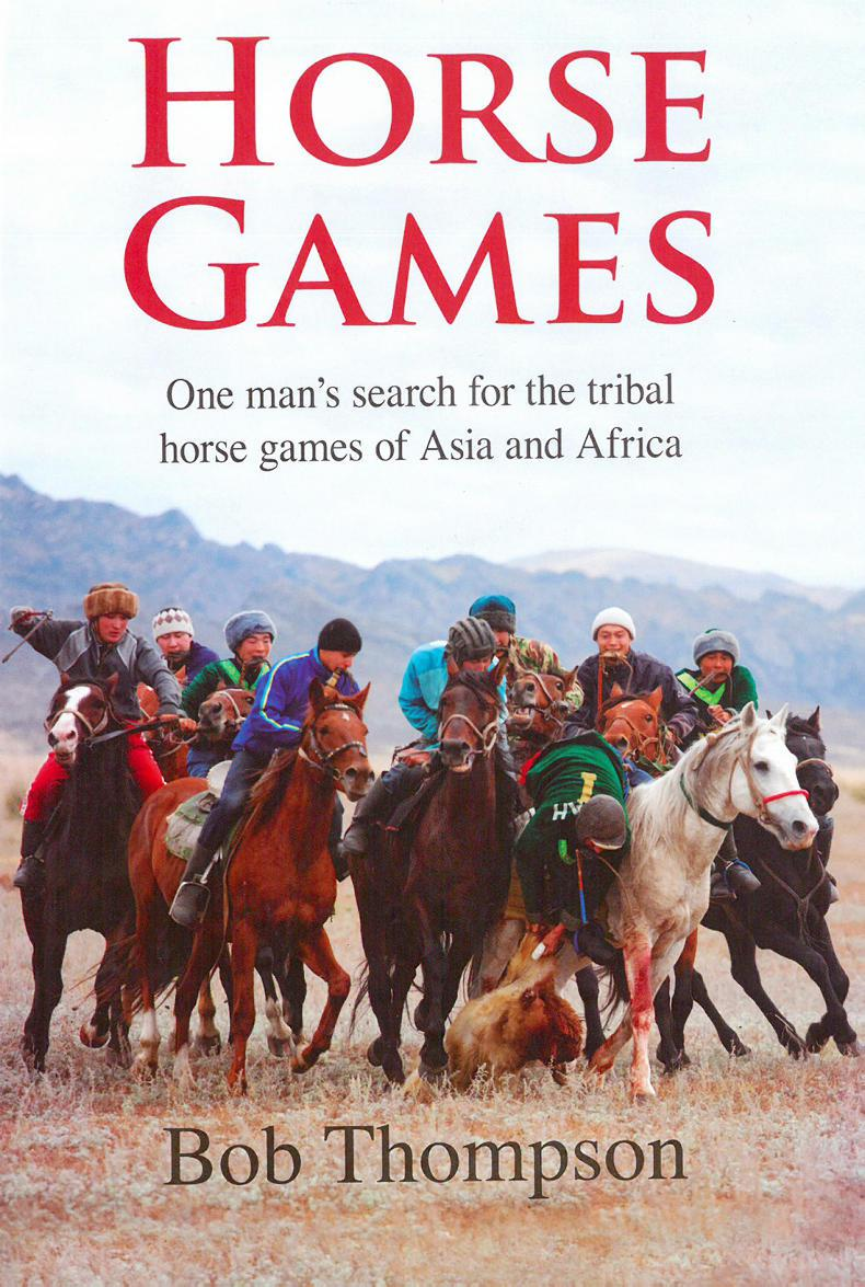 BOOK REVIEW:  Horse Games - uncovering tribal horse games