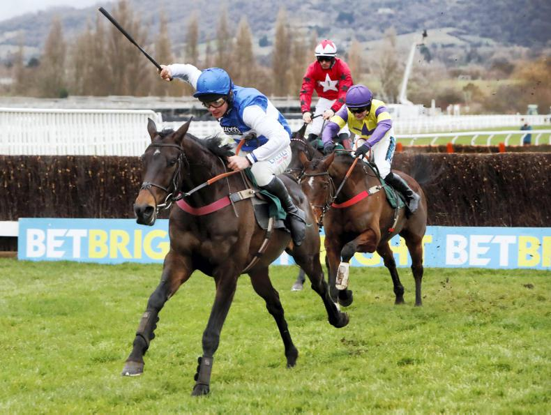 CHELTENHAM NEW YEAR'S DAY: Aso shows continued promise