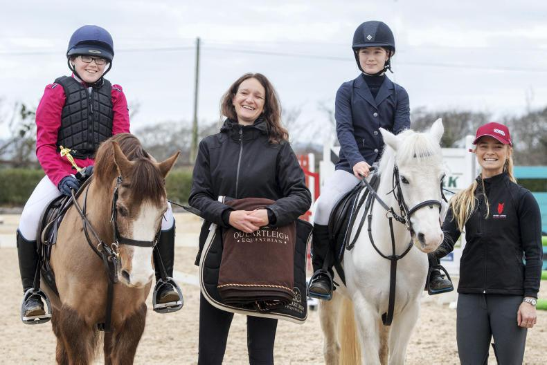 PONY TALES:  Two lucky riders win bursaries