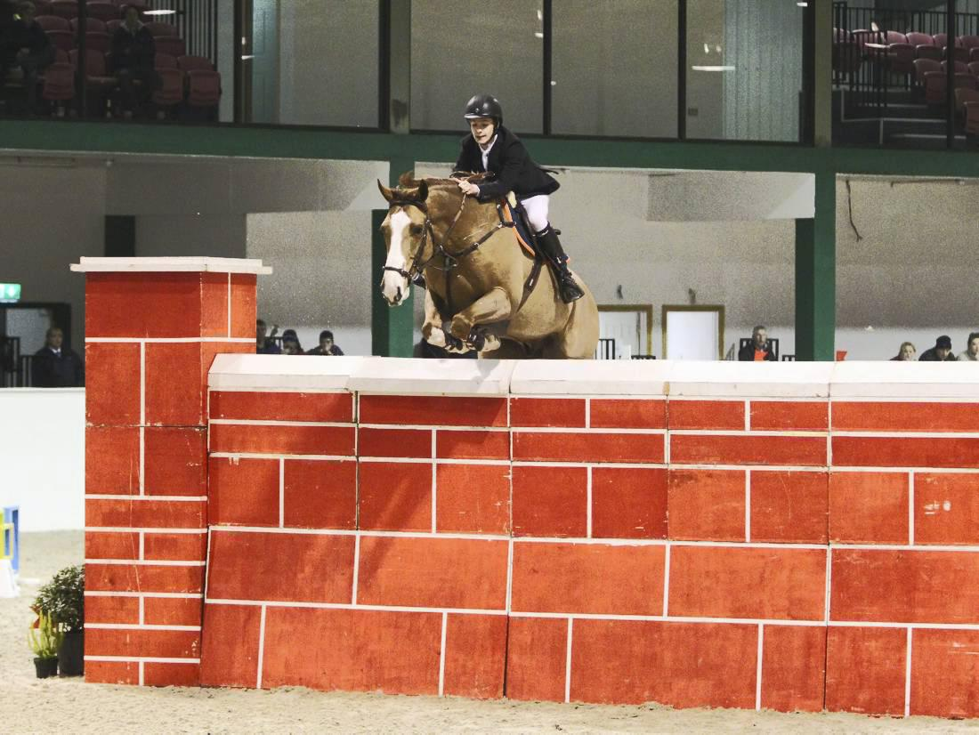 Lucrative Puissance win for Megahey