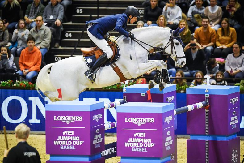 SHOW JUMPING:  Fuchs steals the show at Basel