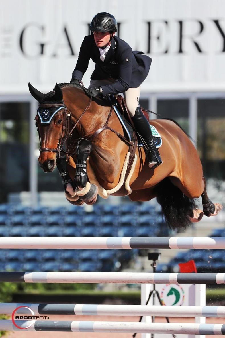SHOW JUMPING:  Kenny off to winning start at WEF