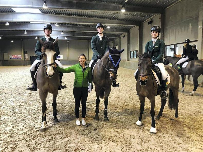 SHOW JUMPING:  Irish students shine at world finals