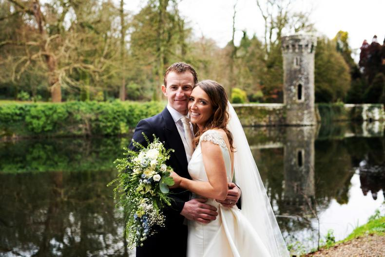 PONY TALE:  Wedding bells for Paddy and Maria!